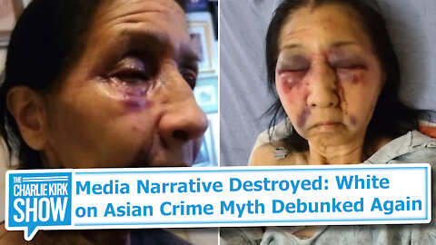 Media Narrative Destroyed: White on Asian Crime Myth Debunked Again