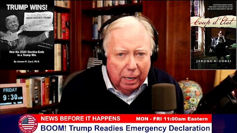 Dr Corsi NEWS 12-18-20: BOOM! Trump Readies Emergency Declaration