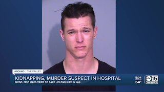 Kidnapping, murder suspect in hospital after attempting to take his own life
