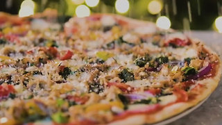 Christmas Dinner Pizza - Video