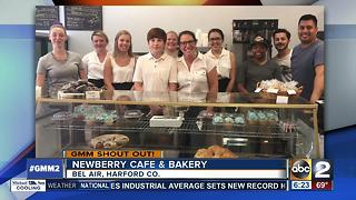 Good morning from the Newberry Cafe and Bakery!