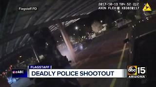 Flagstaff police released body camera footage of officer-involved shooting - Video
