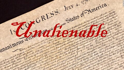 UNALIENABLE * The Right to Bear Arms * SECOND AMENDMENT