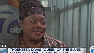 Detroit's 'Queen of Blues' to release first album in 20 years - Video
