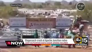 Viewer video captures stagecoach crash in Apache Junction - Video