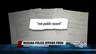 One Marana Police officer fired, three others under investigation - Video