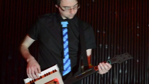 Game of Thrones theme played on NES Keytar
