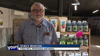 Feed Mill manager retires after 44 years