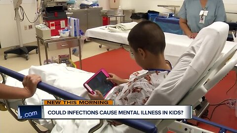 Infection: A Mental Risk for Kids?