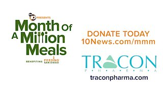 Month of a Million Meals: TRACON Pharmaceuticals supports Feeding San Diego