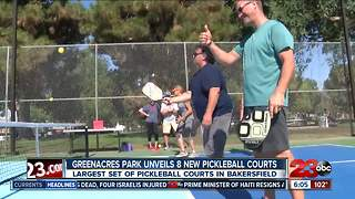 Greenacres unveils new pickleball courts - Video