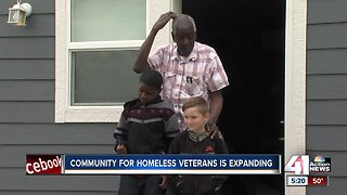 Tiny homes for homeless veterans project enters new phase