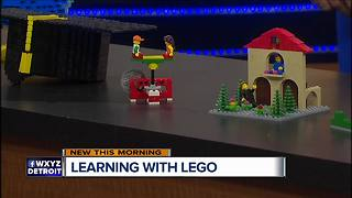Legoland Discovery Center of Michigan offers educational workshops - Video