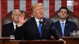 DACA Recipients Not Happy About Key Line from First Trump State of the Union Address - Video