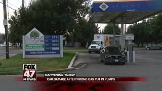 Drivers could pay hundreds in repairs after fuel mix up - Video