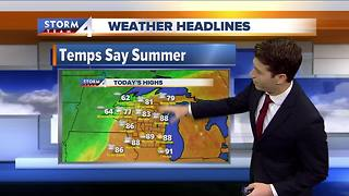 Josh Wurster's Monday morning Storm Team 4cast - Video