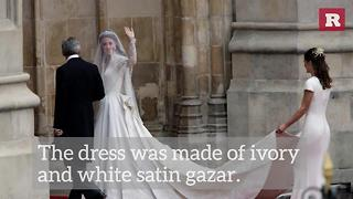 Facts About Kate Middleton's Wedding Dress | Rare People - Video