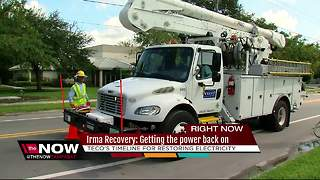 Irma Recovery: Getting the power back on