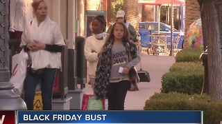 No big crowds on Black Friday in Las Vegas - Video