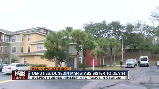 Sheriff: Dunedin man stabs sister to death - Video