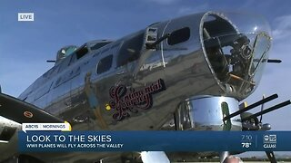 World War II planes will fly over the Valley to mark VE Day