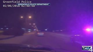DASH CAM VIDEO:  Police chase ends near Mitchell Airport - Video