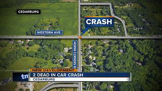 Two 21-year-old men killed in Ozaukee County crash
