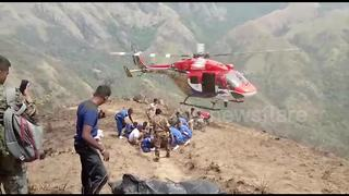 Nine dead after trekkers get trapped in southern India forest fire - Video