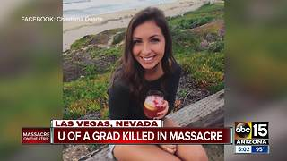 University of Arizona grad killed in Las Vegas massacre - Video
