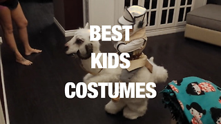 Creative Halloween Costumes for the Kids - Video