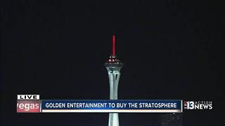 Golden Entertainment to buy the Stratosphere - Video