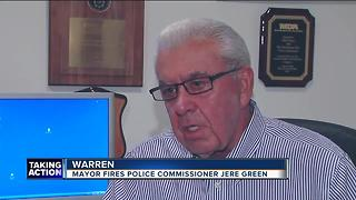 Mayor Jim Fouts rehires Bill Dwyer as new Warren Police Commissioner - Video