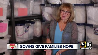 Nick's Heroes: Gowns give families hope