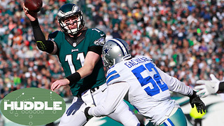 Do the Cowboys Stand a Chance Against the Eagles WITHOUT Ezekiel Elliot?  The Huddle - Video