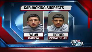 Deputies rescue baby from carjacked vehicle - Video