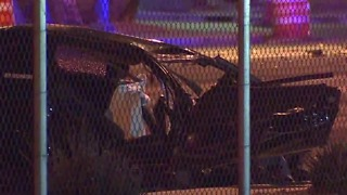 Deadly crash near Sahara and Lamb caused by street racing
