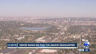 Colorado to narrow down one specific location for Amazon Headquarters - Video