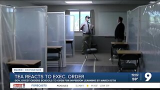 Educators in Tucson react to Gov. Ducey's order to reopen schools