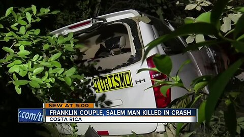 Three from Wisconsin killed in Costa Rica crash