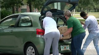 Feeding Tampa Bay holds mega pantry at USF