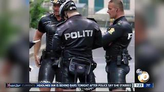 Risque police uniforms? - Video