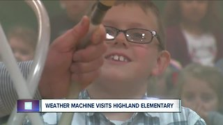 Andy Parker's Weather Machine Visits Highland Elementary 1212