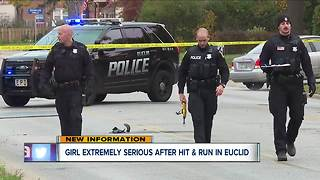 10-year-old girl seriously injured in Euclid hit-skip crash - Video