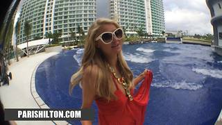 Paris Hilton: Azure photo shoot - Video