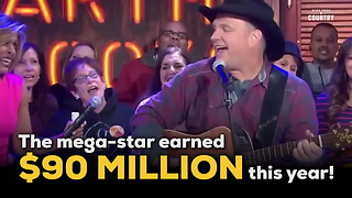 Garth Brooks Top Country Earner of 2015