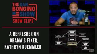 A Refresher On Obama's Fixer, Kathryn Ruemmler - Dan Bongino Show Clips