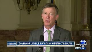 Hickenlooper-Kasich health care proposal calls for retaining individual mandate, funding CSRs - Video