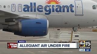 Allegiant Airlines under fire for safety record - Video