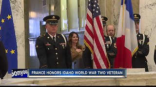 France honors Idaho World War Two veteran