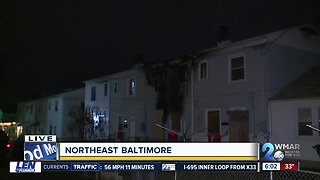 Woman killed in Northeast Baltimore house fire